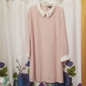 Victoria Beckham for Target peach dress sz 3X